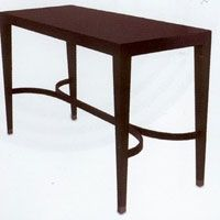 Curvy Console Table126 Wide & 51 deep so probably too deep. Price POA from complete pad