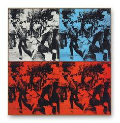 Race Riot, 1964 – Andy Warhol Race Riot, 1964 – Andy Warhol Andy Warhol descended his pop art perch just once to comment visually on racial tensions rampant in the United States during the mid 20th...