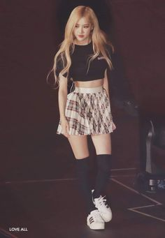 Blackpink in Your Area Part 07 - Visit to See More Pins Blackpink Outfits, Stage Outfits, Blackpink Fashion, Korean Fashion, Square Two, Mode Rose, Black Pink, Blackpink Photos, 1 Rose