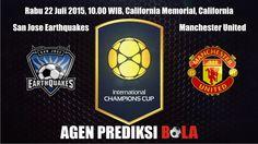 Prediksi Bola San Jose Earthquakes vs Manchester United 22 Juli 2015