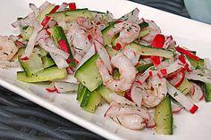 Feuervogels Krabben - Salat