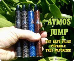 #Atmos #Jump #Vaporizer #Pen 4 Colors In Stock #Helenskinz #Vape #Shop #Auckland #NZ.  https://www.helenskinz.co.nz/products/atmos-jump-vaporizer