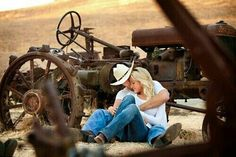 Country Love.. engagement photo