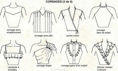 corsage vetement - Google zoeken
