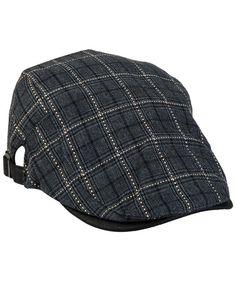 3da38b80ce794 newsboy Hats For Men-Plain Stripe Beret Cabbie Driving Gatsby Flat Cap-Style  6 Grey(Cotton) CL12JTPFU7B