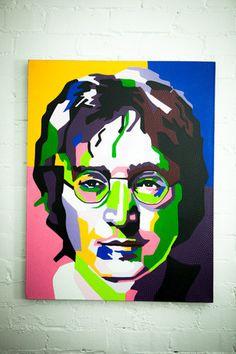 JOHN LENNON John Lennon, Artwork, Work Of Art, Auguste Rodin Artwork, Artworks, Illustrators