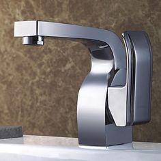 Brass Cast Single Handle Basin Faucet – USD $ 82.99
