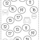 This is a great game for small group in math stations.  Students color in teen numbers after matching them to cards on 20 frames.  Great for identi...