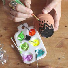 How to make flowerpot wind chimes / De la semence à l'assiette : récoltez le vent - Comment fabriquer un carillon   DeSerres