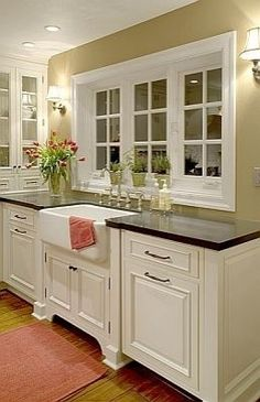 so pretty, especially the sink~Can I just say LOVE, LOVE LOVE this!
