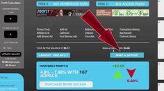 Earnevery30minutes Обзор  возможностей работы Ввод средств Покупка пакет...