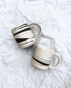 These marble large mugs are back in stock!