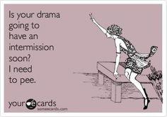 Drama drama drama!
