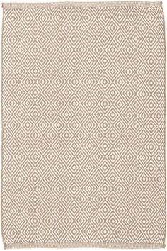 #DashandAlbert Petit Diamond Khaki/Ivory Indoor/Outdoor Rug. We've updated our best-selling Diamond indoor/outdoor rugs with a smaller pattern and versatile khaki hue. With this durable, scrubbable, and bleachable area rug, diamonds really are forever!