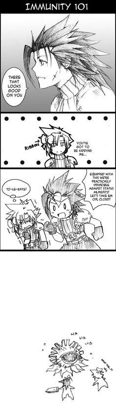 FF7- Immunity 101 by meru-chan