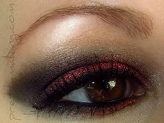 Pretty Making's red and black look