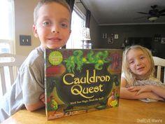 Cauldron Quest a Cooperative Board Game from Peaceable Kingdom {Review   Giveaway} Ends 6.1.15