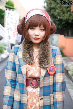 Cute Japanese Hairstyles For Short HairYou can find Japanese hairstyles and more on our website.Cute Japanese Hairstyles For Short Hair Tokyo Street Fashion, Tokyo Street Style, Japanese Street Fashion, Japan Fashion, Japanese Streets, Harajuku Girls, Harajuku Fashion, Kawaii Fashion, Lolita Fashion