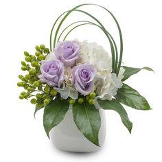 Monrovia Floral :: Florist in Monrovia, CA :: Fresh Flower Delivery in Monrovia Contemporary Flower Arrangements, Creative Flower Arrangements, White Flower Arrangements, Floral Centerpieces, Silk Arrangements, Home Flowers, Table Flowers, Small Flowers, Beautiful Flowers