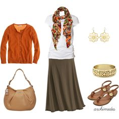 Late August, created by Work Fashion, Modest Fashion, Fashion Outfits, Womens Fashion, Office Fashion, Modest Outfits, Casual Outfits, Night Outfits, Cute Fall Outfits