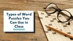 There are many types of word puzzles for all ages including adults! Students can create the puzzles for their classmates to solve! Word Puzzles For Kids, Mazes For Kids, Printable Puzzles For Kids, Vocabulary Workshop, Vocabulary Games, Preschool Activities At Home, Ways Of Learning, Unique Words, Create Words