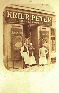 1906. Krier Péter borbély és fodrász, Práter utca