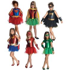 Girl Supehero Costumes Kids Halloween Fancy Dress. Kids Costumes Girls Superhero ...  sc 1 st  Pinterest & Super Hero Capes are perfect for Halloween costumes or just playing ...