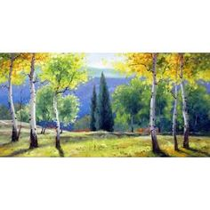 Bright Nature by Lilian's Galerie: This bright artwork should get a nice place on the wall in your home