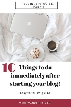 Blogging can seem super overwhelming without any direction. Take the stress away with this easy to follow guide on exactly what to do after starting a blog to set it up for success. Trust me, you will not want to miss any of these crucial steps! Blogging For Beginners Guide: Part 2