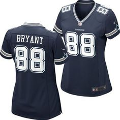 Dallas Cowboys Dez Bryant #88 Women's Replica Jersey from Fanzz