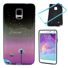 Amazon.com: Note 4 Case, U-Gem star Colorful Heavy Duty Hybrid Rugged Hard Case Cover For Samsung Galaxy Note 4,with SIM Card Adapter Kit+Screen Protector+Black Stylus (PC-18): Cell Phones & Accessories