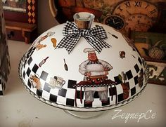 Serving Trays, Tole Painting, Farmers Market, Decoupage, Christmas Bulbs, Country, Holiday Decor, Glass, Diy