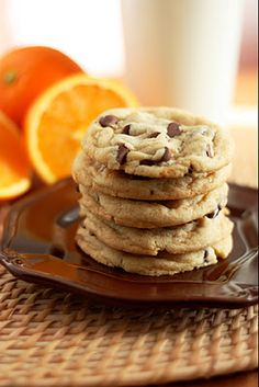 Orange Chocolate Chip Cookies (tastes just like an Orange Milano, but better!) - Cooking Classy