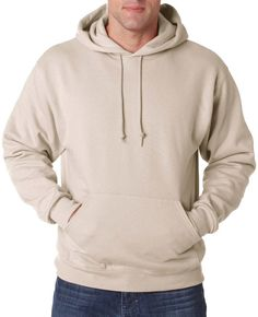 jerzees adult nublend(R) hooded pullover sweatshirt - sandstone (4xl)