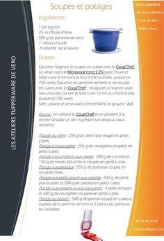 Soupes et potages - Tupperware