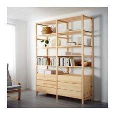 IVAR 2セクション/シェルフ/チェスト, パイン材 - IKEA
