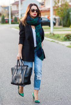 17 Black Blazer Outfit Ideas | fashionsy.com