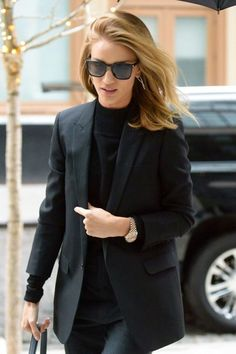 Rosie Huntington-Whiteley Photos - Rosie Huntington-Whiteley was spotted after a photo shoot in downtown New York, New York on April 28, 2016. Rosie has just returned from Los Angeles, where she hosted a dinner at The Apartment in honor of designer Brandon Maxwell on Tuesday. - Rosie Huntington-Whiteley Steps Out After a Photo Shoot