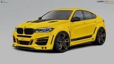 Best Sports Cars : Illustration Description 2015 BMW X6 tuning program by Lumma Design – www.bmwblog.com/…