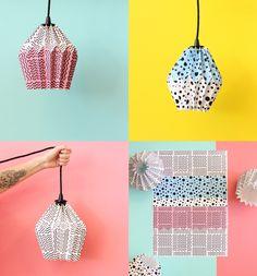 Origami lamp workshop, Baba Souk