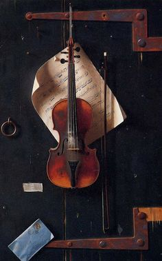 William Harnett, The Old Violin, 1885