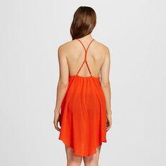 Women's Gauze Dress Cover Up - Coral (Pink) - XL - Xhilaration