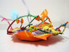 Princess Artypants: Surreal Paper Mache Bowls