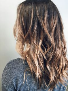 Pin for your hairdresser || Ecaille balayage