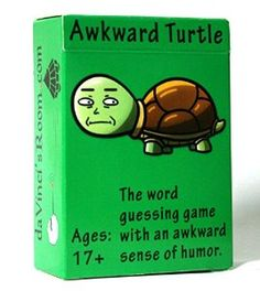 Amazon.com: Awkward Turtle - The Adult Party Word Game with a Crude Sense of Humor by da Vinci's Room: Toys & Games