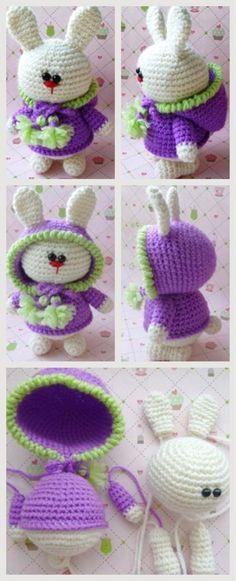 Amigurumi Bunny #amigurumi #amigurumipattern #crochettoys #knittingtoy