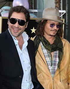 """@InstaMag - Actor Javier Bardem thinks his """"Pirates of the Caribbean: Dead Men Tell No Tales"""" co-star Johnny Depp is a gentleman."""