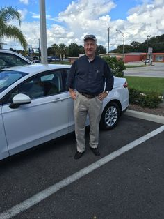 """Mr. Rutherford came into Lakeland Automall in the hopes of finding a new vehicle. With the help of salesmen Lawrence Christian, Mr. Rutherford left with a 2016 Ford Fusion! """"Great dealership experience. Sales rep was there to help find the right vehicle that fit my budget. Dealership was also very nice with its amenities!"""" We really appreciate your business here with us! We hope that you are enjoying your new Ford Fusion and please; if there is anything that we can do, don't hesitate to ask……"""