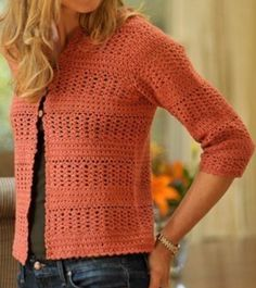 Pattern - Crochet Cardigan Pattern