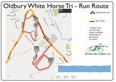 Oldbury White Horse Sprint Triathlon Run Route 5th May 2013 | Events Logic UK | Be Part Of It!